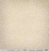 Бумага для скрапбукинга Rustic Winter, Снегопад, 30х30 см