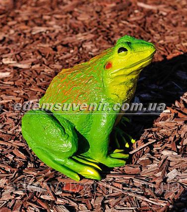 Садовая фигура Жаба ага малая, фото 2