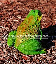 Садовая фигура Жаба ага малая, фото 3