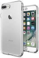 Чехол Spigen для iPhone 7 Plus Neo Hybrid Crystal, Satin Silver , фото 1