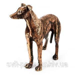 Статуэтка охотничьей собаки - фото