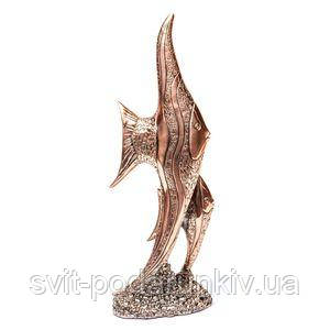 Статуэтка рыбы - фото
