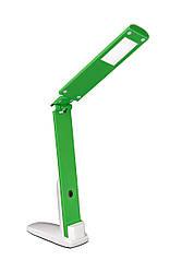 Настольная led лампа Delux TF-310 5Вт бело-зеленая