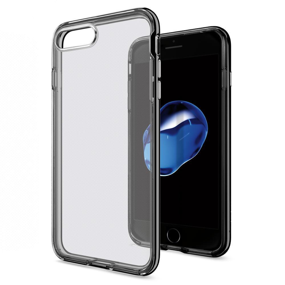 Чехол Spigen для iPhone 7 Plus Neo Hybrid Crystal, Jet Black, фото 1