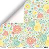 Бумага для скрапбукинга Simple Flowers, Яркие цветы, 30х30 см