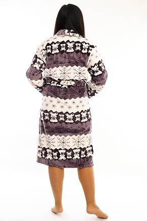 Женский халат на запах, фото 2