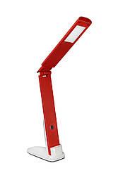 Настольная led лампа Delux TF-310 5Вт бело-красная