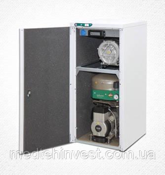 Компресор EKOM DUO з пиловідводним агрегатом на основі, безмаслянный стоматологічний (пр-во Словаччина)