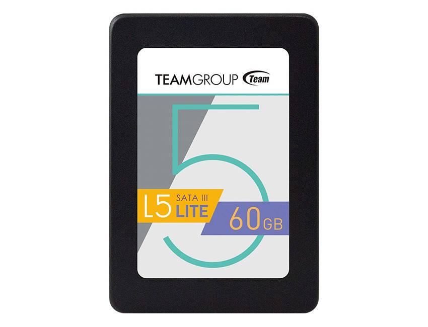 """SSD   60GB Team L5 Lite 2.5"""" SATAIII TLC (T2535T060G0C101)"""