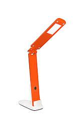Настольная led лампа Delux TF-310 5Вт бело-оранжевая