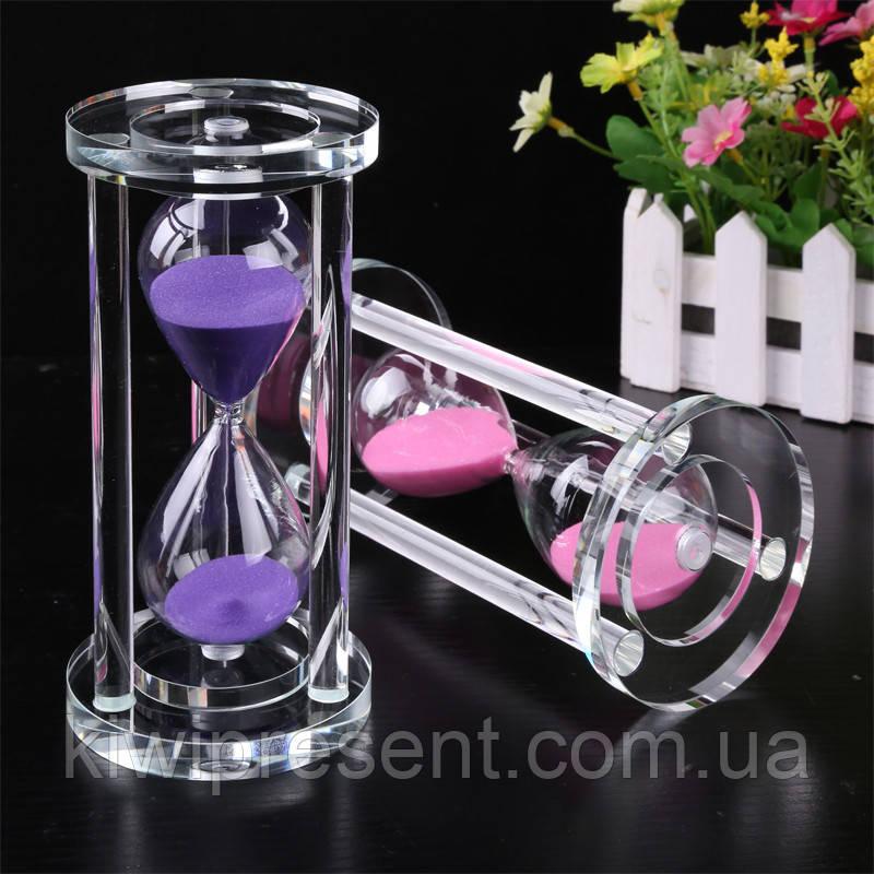 Часы песочные стеклянные сувенирные