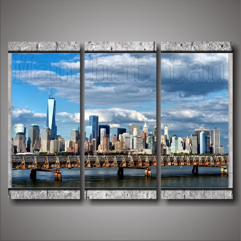"Модульная картина ""Manhattan"""