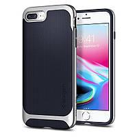 Чехол Spigen для iPhone 8 Plus / 7 Plus Neo Hybrid Herringbone, Satin Silver, фото 1