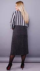 Женское демисезонное платье больших размеров: 50-64, фото 2