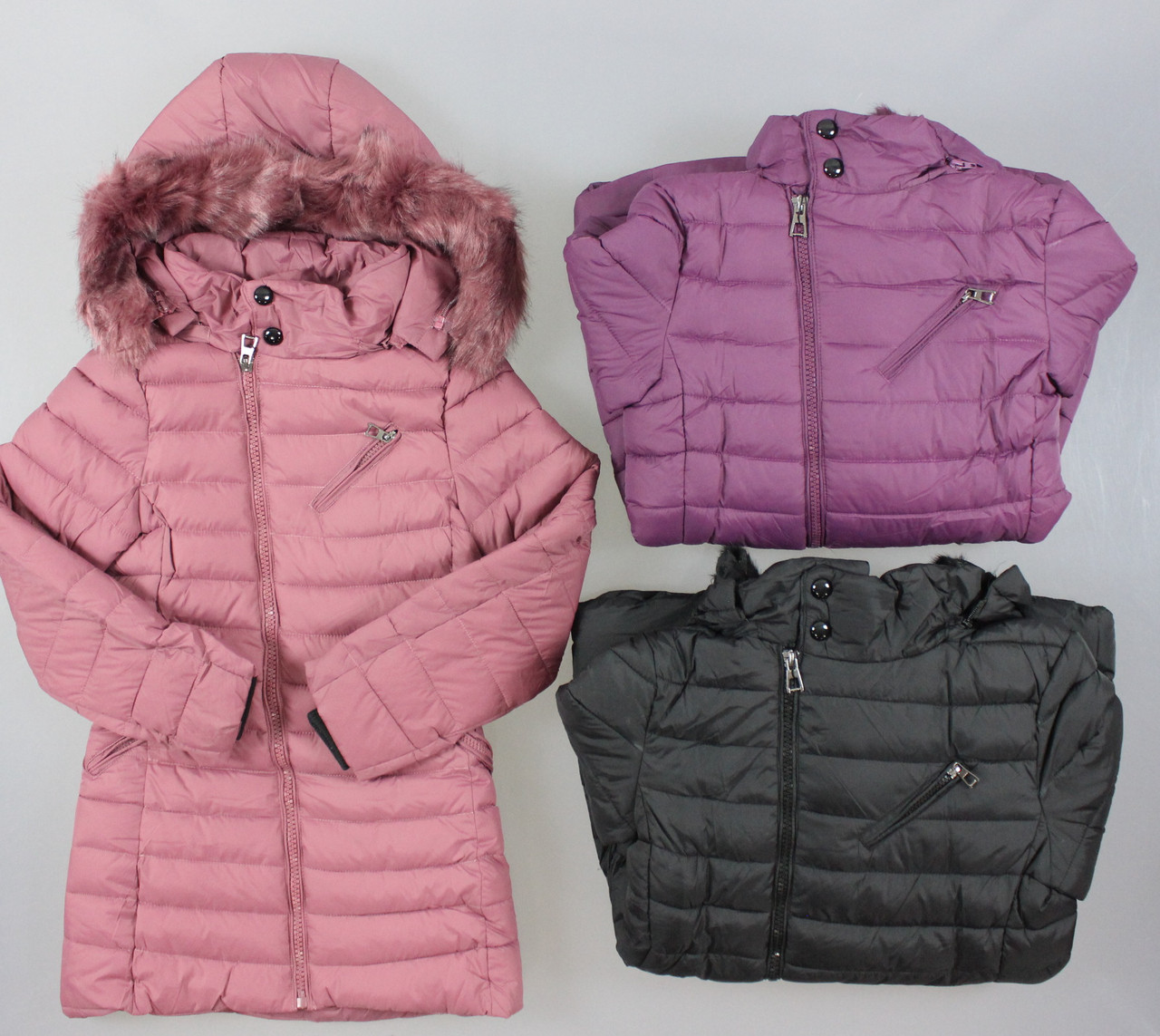 6173c7c8189 Куртка утепленная для девочек Taurus оптом