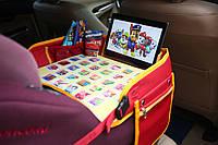 """Детский столик """"Азбука"""" для автокресла и коляски, красный"""