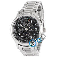 Longines Master Collection Moonphases Steel Silver-Black 1013-0026