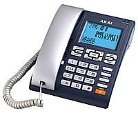 Стационарный телефон АОН/Caller ID  AKAI AT-A25CJ