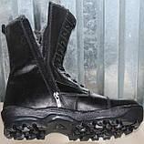 Берці зимові шкіряні чоловічі великого розміру від виробника модель С1313Б-1, фото 3