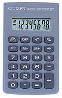 Калькулятор Citizen LC-310, прорезиненные кнопки, 8-миразрядный дисплей, корень, проценты, память значений
