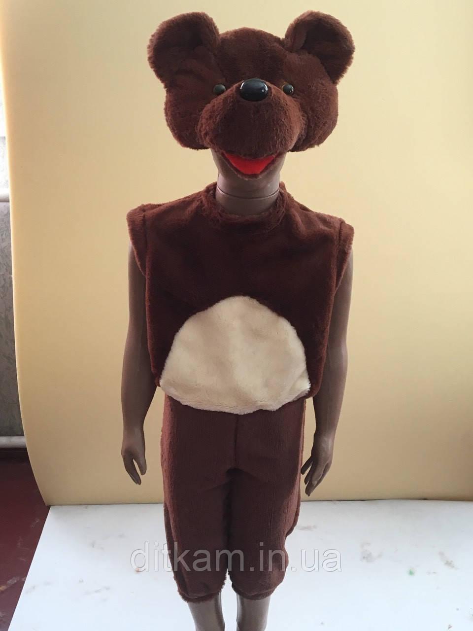 Детский карнавальный костюм Медвежонка 3-5 лет