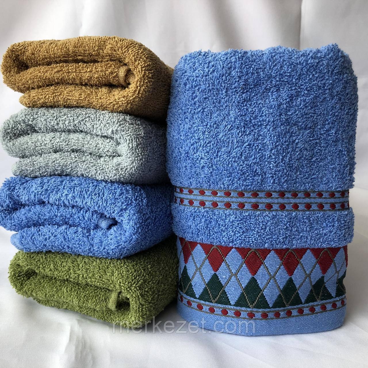 """Полотенце махровое для бани. Банное полотенце """"Айса"""". Пляжное полотенце"""