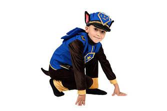 Детский карнавальный костюм ГОНЩИК ЧЕЙЗ из ЩЕНЯЧИЙ ПАТРУЛЬ для мальчика 5,6,8,9 лет, костюм СУПЕРГЕРОЕВ
