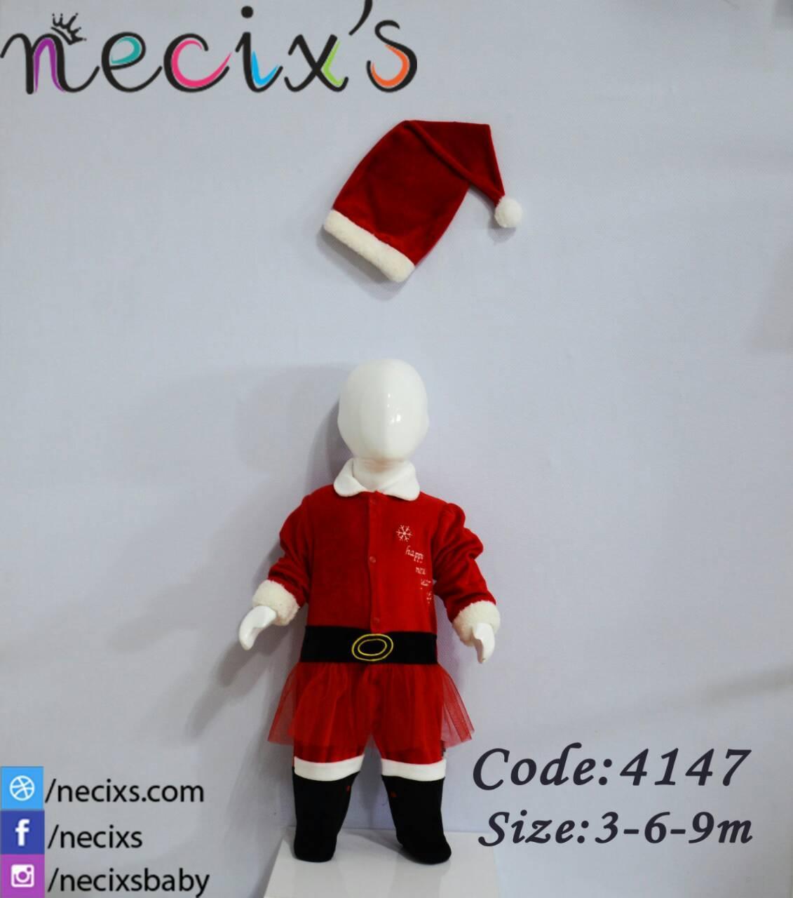 Детский комбинезон и шапка велюр Cнежка Новогодний 384147