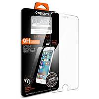 Защитное стекло Spigen для iPhone 6S Plus / 6 Plus, Black (SGP11636), фото 1