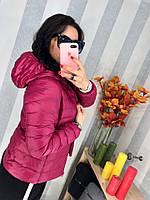 Тепленькая курточка с капюшоном в расцветках db-1810.076
