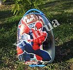 Детские чемоданы на 2 колесах Человек паук
