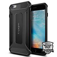 Чехол Spigen для iPhone 6s Plus / 6 Plus Rugged Armor, Black