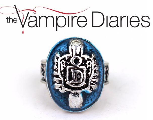Кольцо Деймона Сальваторе Дневники Вампира Vampire Diaries размер 9 наш 18