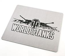 Килимок для мишки World of Tanks White