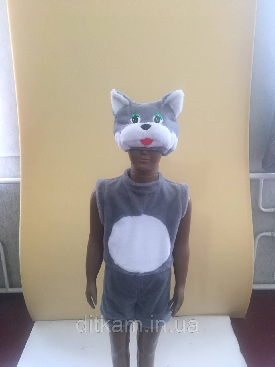Детский карнавальный костюм Кота 3-5 лет