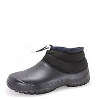 Ботинки. Черные. Мех. 315251