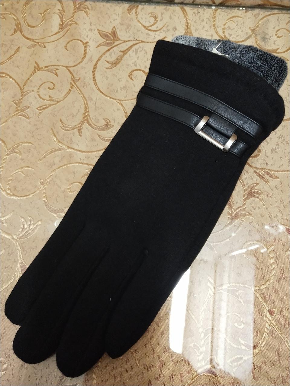 Трикотаж с махра Лучше перчатки мужские Angel только оптом