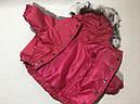Костюм зимний Аляска 35 см разм №2 фуксия для собак, фото 3