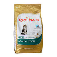 Royal Canin CAT  2 кг KITTEN MAINE COON корм для котят породы мейн кун