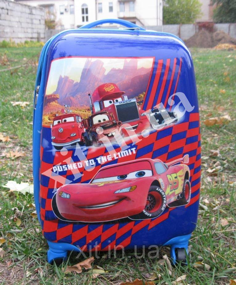 "Детский чемодан 16"" на колесах Макуин"
