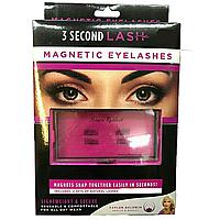 Ресницы на магнитах набор 3 Second Lash Magnetic Eyelash Kit, накладные ресницы
