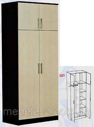 Шкаф 2ДП Модерн МДФ   2100х900х530мм  Абсолют, фото 2