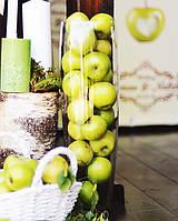 Подсвечник стеклянный цилиндр колба для насыпных свечей ваза в форме цилиндра, размер h53d16