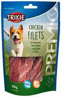 "Trixie Лакомство для собак 100 г ""Chicken Filets"" куриное филе"