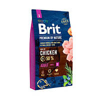 Brit Premium Dog ADULT S 8 кг Корм для собак мелких пород (1-10 кг)