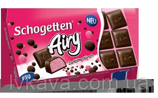Черный шоколад Schogetten Airy Dark Cherry, 95 гр