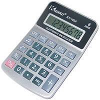 Калькулятор для школьников и студентов Kenko KK-185A, дисплей 8 разрядов, 1 ячейка памяти, питание - батарейка