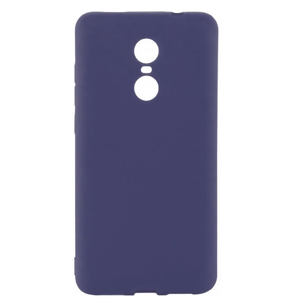 Силиконовый чехол Candy для Xiaomi Redmi 5 Dark Blue