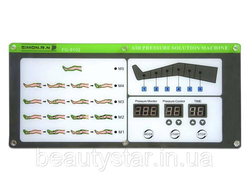 Аппарат блок для прессотерапии модель 1002