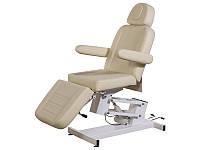 Косметологическая кресло-кушетка модель 3705 (1 мотор)-бежевая